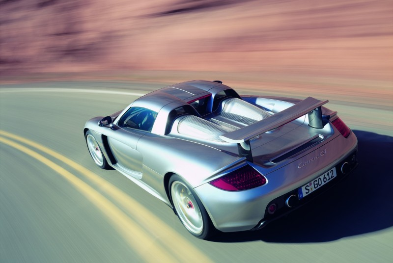 Porsche Carrera GT back